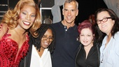 Tony-nominated director Jerry Mitchell gets in on some of the backstage love with Billy Porter, Whoopi Goldberg, Cyndi Lauper and Rosie O'Donnell.