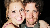 Tony nominee Annaleigh Ashford has an adorable reunion with her Legally Blonde co-star Christian Borle (coincidentally directed by Kinky helmer Jerry Mitchell).