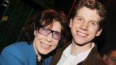 Hey, Lily Tomlin, you're not related to Tony nominee Stark Sands, are you? We definitely see a resemblance!