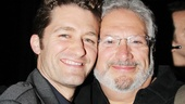 Link and Edna! Matt Morrison and Harvey Fierstein still look just as fierce as when they opened Hairspray together back in 2002.