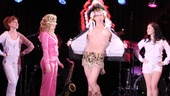 Andy Karl brings a little Broadway Bares moment to the Legally Blonde sketch. Looking good, Andy!