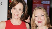 Sigourney Weaver rocks a photo op with her fellow Vanya and Sonia and Masha and Spike headliner, Tony nominee Kristine Nielsen.