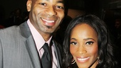2013 Drama League Awards Luncheon — Brandon Victor Dixon — Valisia LeKae