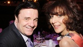 The Nance star Nathan Lane catches up with his close friend, Pippins Andrea Martin.