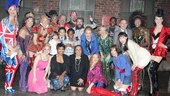 The cast of Kinky Boots bids talented guests S. Epatha Merkerson and Angela Bassett a fond farewell.