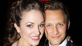 Cinderella star Laura Osnes gets close with her real-life prince, husband Nathan Johnson.