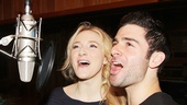 "Betsy Wolfe and Adam Kantor join their voices in ""The Next Ten Minutes."""
