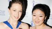 Who's Afraid of winner Carrie Coon? Certainly not past Theatre World recipient Jennifer Lim!