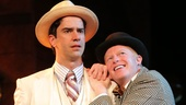 Hamish Linklater and Jesse Tyler Ferguson in The Comedy of Errors.