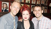 Sardi's- Kinky Boots- Justin Paul- Cyndi Lauper- Benj Pasek