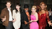 Let's see those jazz hands! Ben Vereen shows Stark Sands, Celina Carvajal, Annaleigh Ashford and Billy Porter how it's done!