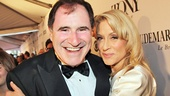 Richard Kind gets a big Tony night hug from fellow TV star-turned-Tony nominee Judith Light.