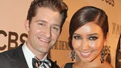 Glee star and former Tony nominee Matthew Morrison and girlfriend Renee Puente look picture perfect.