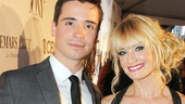 The Book of Mormon star Matt Doyle shares the night with his bestie, Two Broke Girls star Beth Behrs.