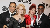 2013 Tony Awards Winner's Circle