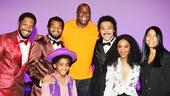 Magic Johnson at Motown — Bryan Terrell Clark — Brandon Victor Dixon — Raymond Luke Jr — Magic Johnson — Charl Brown — Valisia LeKae — Cookie Johnson