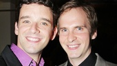 Michael Urie has a big fan in the audience: his boyfriend, Ryan Spahn!