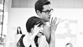 'First Date' Rehearsal — Krysta Rodriguez — Zachary Levi