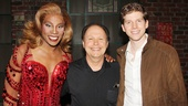 Billy Crystal congratulates the Tony-winning musical's leading duo, Billy Porter and Stark Sands.
