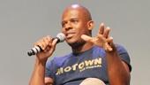 'Motown' at SoHo Apple Store— Brandon Victor Dixon — Valisia LeKae — Ryan Shaw — Raymond Luke Jr.