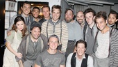 "Jonathan Groff enjoyed his trip to the ""Neverland you never saw"" with the magical cast of Peter and the Starcatcher!"