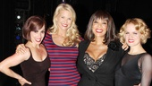 Hotcha! Christie Brinkley strikes a pose with cast Donna Marie Asbury, Wendy Williams and Amy Spanger.