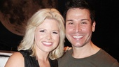 It's a Wicked reunion for Megan Hilty and First Date cast member Kristoffer Cusick, who played Glinda and Fiyero in the L.A. production six years ago.