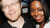 Rent alum Anthony Rapp and Bring It On vet Adrienne Warren take a break after doing some serious wailing.