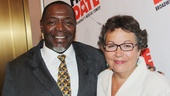 Tony winner Chuck Cooper and his wife, playwright Deborah Brevoort, have a date night of their own!