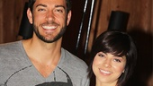 Zachary Levi and Krysta Rodriguez are ready to record the original cast album of the new Broadway musical comedy First Date.