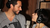 Sparks are flying indeed! Check out the dynamic chemistry between Zachary Levi and Krysta Rodriguez in Broadway's First Date!
