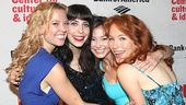 Glamorous ladies Patti Murin, Audrey Lynn Weston, Kimiko Glenn and Maria Thayer play a quartet of girls who spell trouble for their old college lovers.