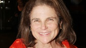 Tovah Feldshuh takes a break from her high-flying Pippin performance to check out Soul Doctor.