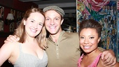 Vanya cast members Liesel Allen Yeager, Creed Garnick and Shalita Grant come together for a photo.