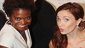 Broadway pals LaChanze and Sierra Boggess show off their fancy shoes!