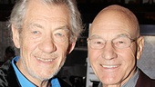 Longtime friends Ian McKellen and Patrick Stewart can't wait to team up at the Cort Theatre.