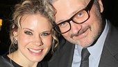Who's Celia Keenan-Bolger's biggest fan on opening night? Her husband John Ellison Conlee!