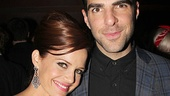 Zachary Quinto reunites with his gorgeous former co-star Carla Gugino (the two appeared in 2011's Margin Call and Girl Walks Into a Bar).