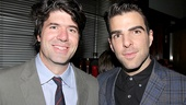Speaking of Margin Call, the film's director J.C. Chandor sends good wishes to his leading man Zachary Quinto.