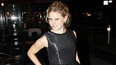 Fashion moment! Celia Keenan-Bolger flaunts her gorgeous dress on opening night.