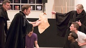 Macbeth – Rehearsal Photos – John Glover – Malcolm Gets – Byron Jennings
