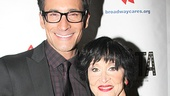 Former TV Guide Network's The Fashion Team host and EXTRA correspondent Lawrence Zarian approves of Chita Rivera's lavish red carpet style.