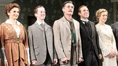 Mary Elizabeth Mastrantonio, Spencer Davis Milford, Roger Rees, Alessandro Nivola and Charlotte Parry take the stage for their opening night curtain call in The Winslow Boy.