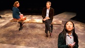 Laurie Metcalf as Judy, Jeff Goldblum as Bill & Misha Seo as Cassidy in Domesticated