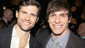 Longtime Fiyero Kyle Dean Massey and current Fiyero Derek Klena share the brotherhood of the tight white pants.
