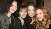 Elphabas past and present—Mandy Gonzalez, Julia Murney, Lindsay Mendez and Teal Wicks— unite for this wickedly fierce photo.