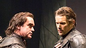 Brian d'Arcy James as Banquo & Ethan Hawke as Macbeth in Macbeth