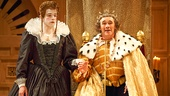 Joseph Timms as Anne & Mark Rylance as King Richard III in Richard III