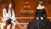 Samuel Barnett as Viola & Mark Rylance as Olivia in Twelfth Night