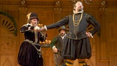 Colin Hurley as Sir Toby Belch,  Jethro Skinner as Fabian & Stephen Fry as Malvolio in Twelfth Night